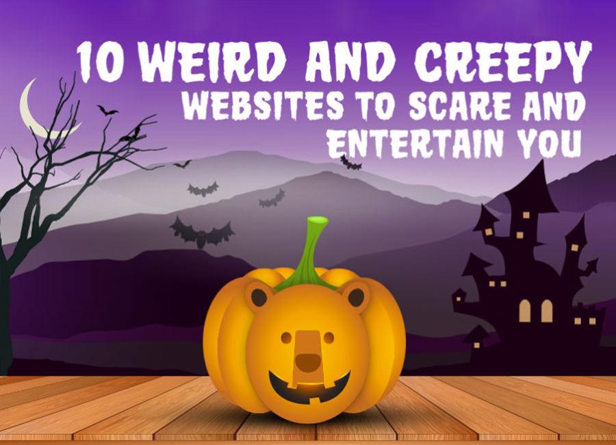 weird and creepy websites