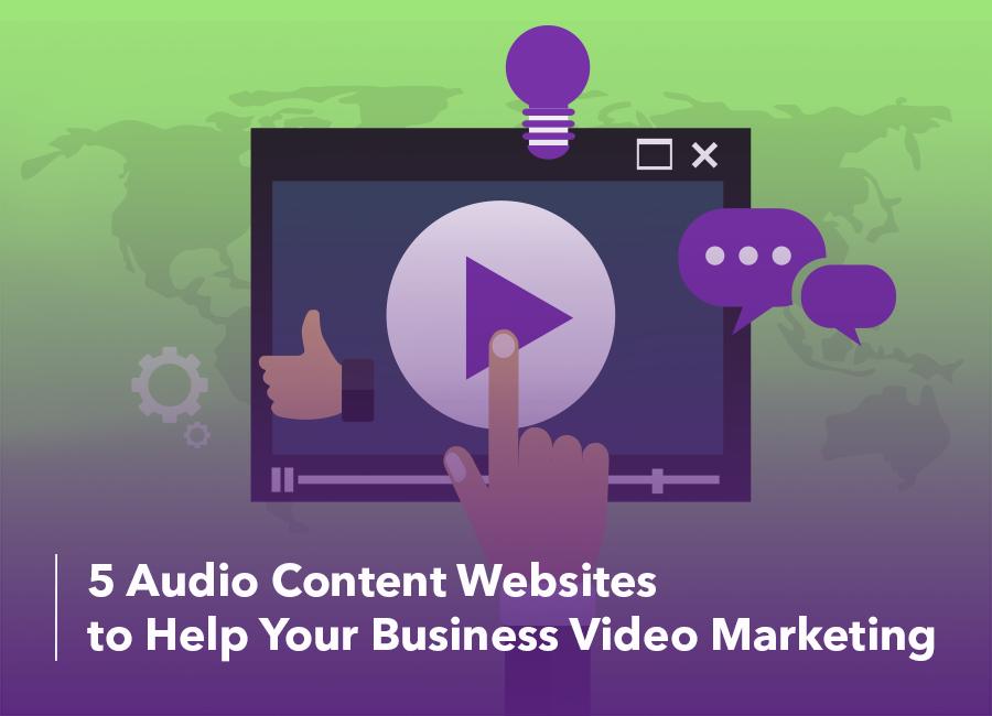 audio content websites