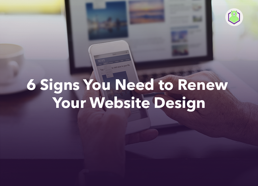 renew your website design