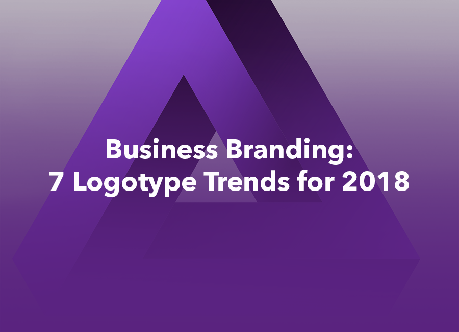 logotype trends for 2018