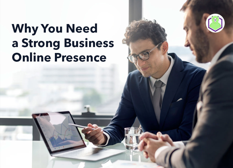 strong business online presence
