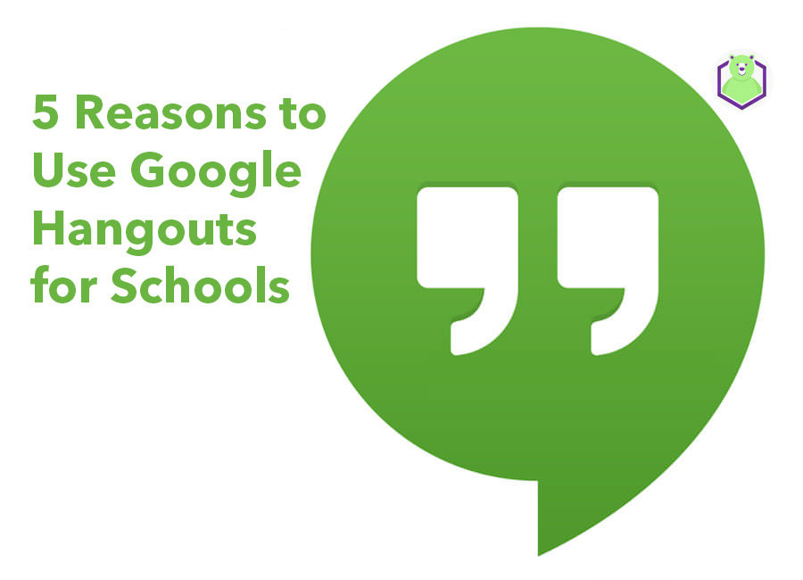 Google Hangouts for schools