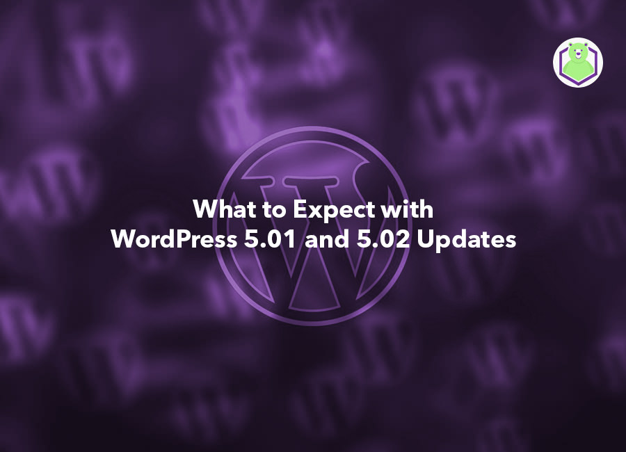 What to Expect with WordPress 5.01 and 5.02 Updates - WordPress logo