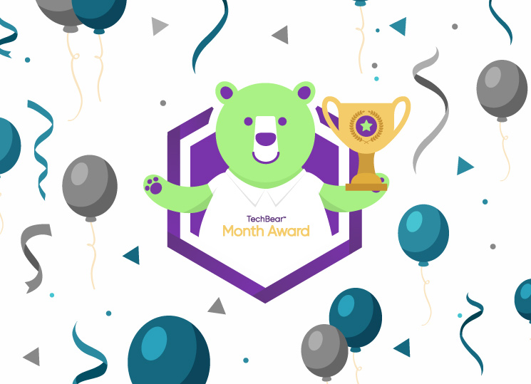 TechBear's Website of the Month Award goes to My Space Reclaimed!