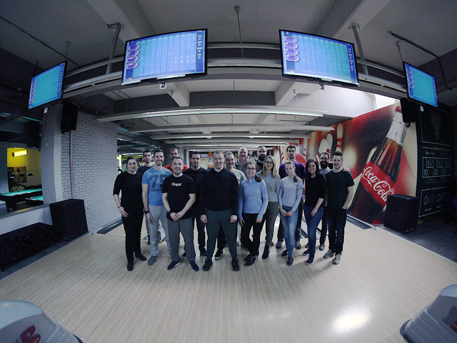 Team Building: TechBear Goes Bowling!
