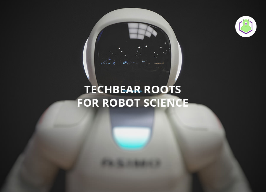 TechBear Roots for Robot Science!
