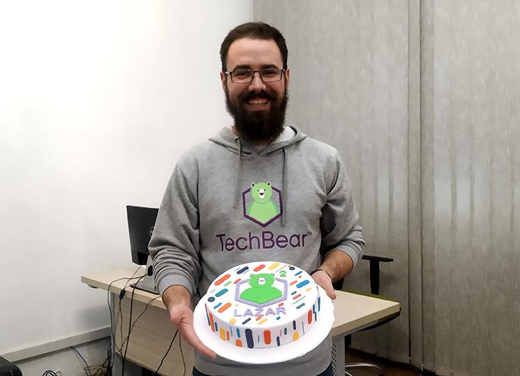Lazar's 2-Year Work Anniversary