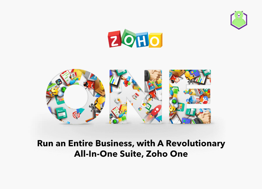 Run an Entire Business, with A Revolutionary All-In-One Suite, Zoho One